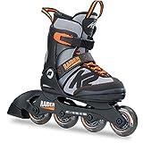 K2 Skates Jungen Inline Skate Raider — black - grey - orange — S (EU: 29-34 / UK: 10-1 / US:...