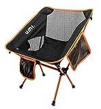 Umi by Amazon Tragbarer Campingstuhl, kompakt, Ultraleicht, zusammenklappbar, mit Tragetasche für...