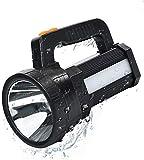 ERAY Handscheinwerfer Wiederaufladbar, LED Handscheinwerfer Akku 11000 lm 9600mAh Power Bank & IPX4...