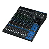 Yamaha MG16x U 16Ausgangskanäle Mischpult Audio–Tische Mischpult Audio (16Kanäle, 24Bit, -78DB, 192kHz, 6,3mm, 30W)