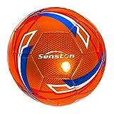 Senston Fußball Ball Wasserdicht Sport Training Ball Freizeitbälle für Fußbälle Größe 5