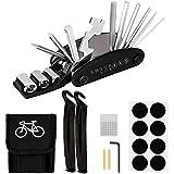 HQCM Fahrrad-Multitool, 16 in 1 Werkzeuge für Fahrrad Reparatur Multi-Tool Set Fahrradwerkzeug mit...