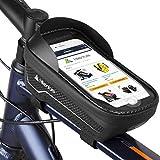 HIKENTURE Rahmentasche Fahrrad Wasserdicht mit/ohne Fingerabdrucksensor, Fahrradtasche Rahmen mit...