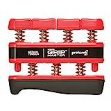 Pro Hands Fingertrainer Gripmaster medium, Red, 230x140