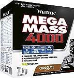 Weider Mega Mass 4000 Weight Gainer Shake zum Zunehmen, Schokolade, mit Protein,Creapure Kreatin...