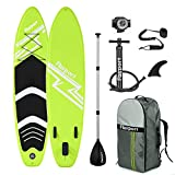 FBSPORT SUP Board,Stand Up Paddle Board,Aufblasbare Boards für Stand-Up Paddling 15CM Dick,Premium...