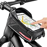 Jooheli Fahrrad Rahmentasche Wasserdicht Handyhalterung Fahrrad Rahmentasche mit TPU-Touchscreen,...
