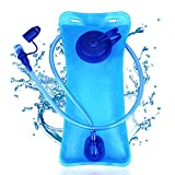 SKL 2 Liter Trinkblase Trinkbeutel Trinksystem Wasserblase PEVA Hydration Bladder Trinksack...