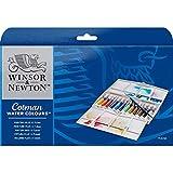 Winsor & Newton 0390377 Cotman Aquarellfarbe Painting Plus Set, 12 lebendige Wasserfarben aus...