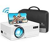 WiFi Beamer 4500 Lux, VANKYO Leisure 470 Wireless Beamer, Support 1080P Full HD Heimkino Beamer...