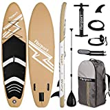 FBSPORT Aufblasbares SUP Board,Stand Up Paddle Board,Aufblasbare Boards für Stand-Up Paddling 15 cm...