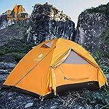 V VONTOX Camping Zelt, 1-3 Personen Wasserdichtes Ultraleichte Kuppelzelt, mit Aluminum Zeltstange...