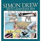 Simon Drew Easel Desk Calendar 2021