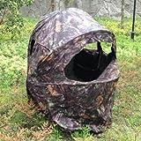 Nitehawk - Pop-Up-Tarnzelt mit Stuhl für 1 Person - für die Jagd/Wildfotografie