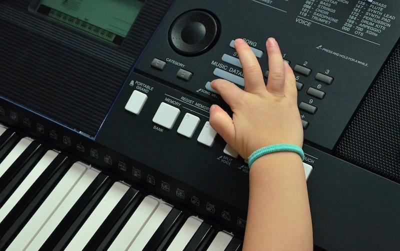 Keyboard Kind Hand