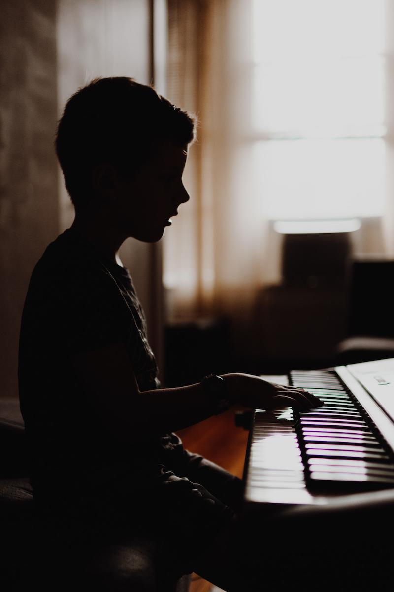 Kind Keyboard Junge