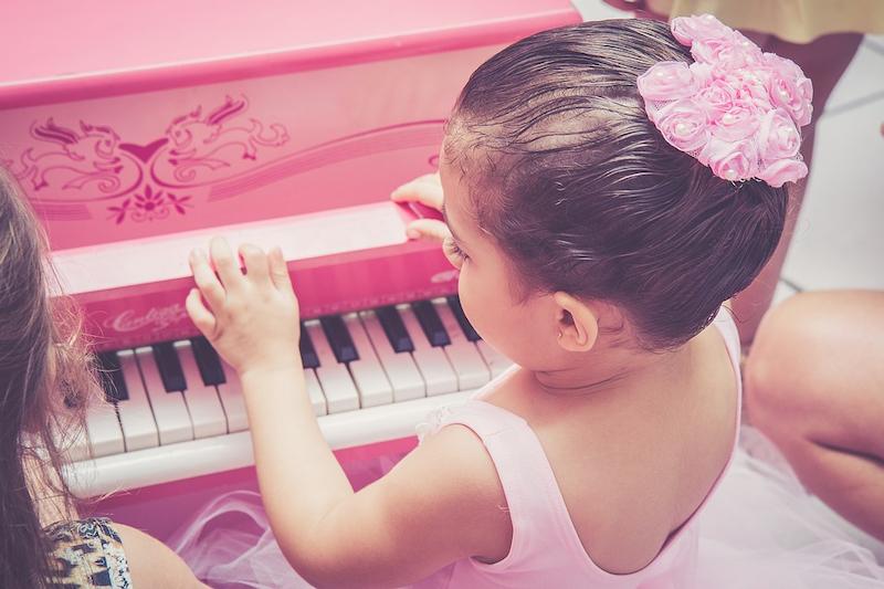 Prinzessin Keyboard Kleinkind