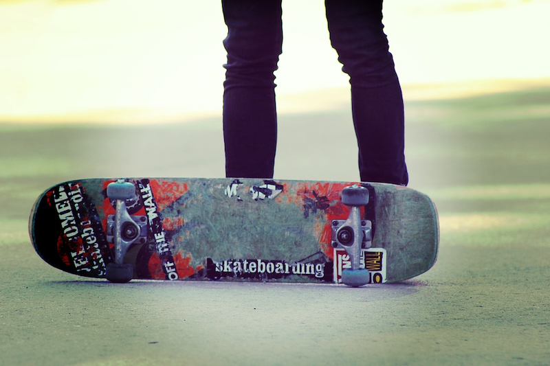 Skateboard Tretrolleralternative