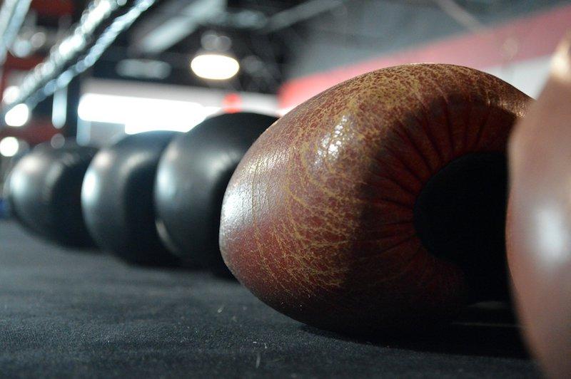 Boxhandschuhe echtes Leder oder Kunstleder