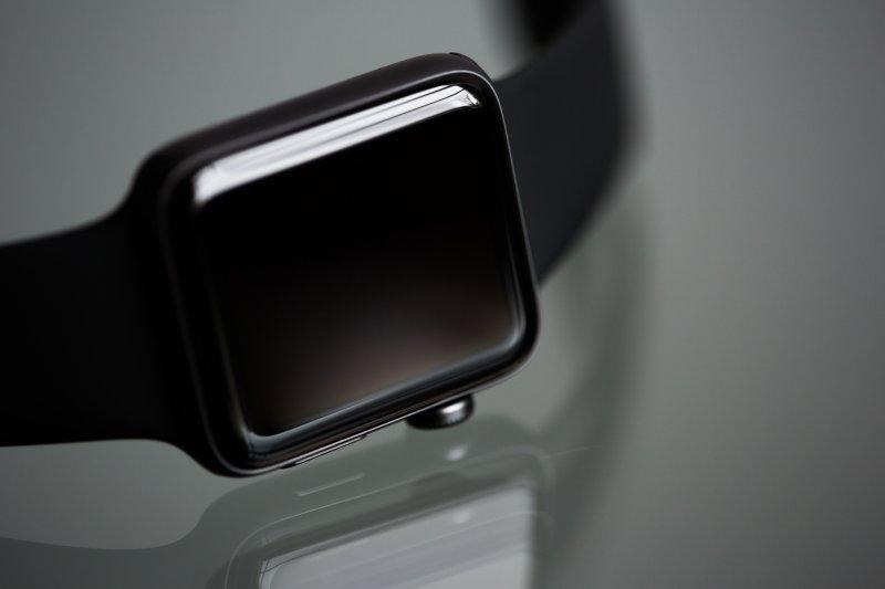 Schwarzes Schlaftracker - Armband
