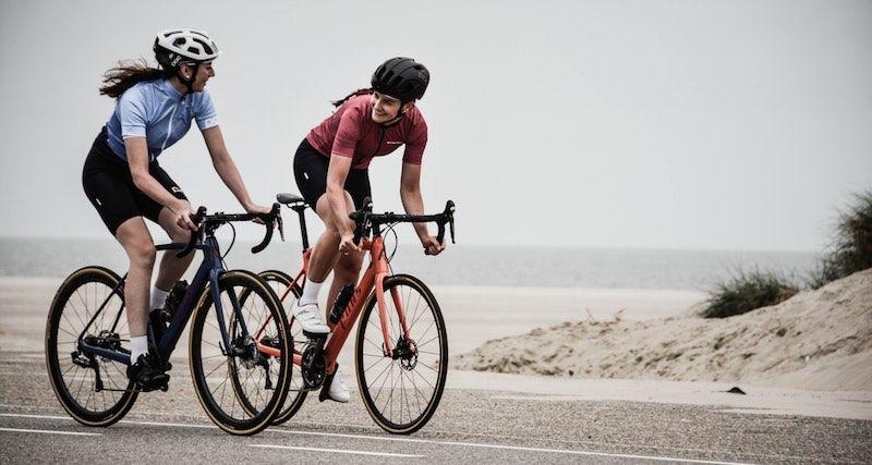 Das Rennrad ist ein beliebter Fahrradtyp für Sportler