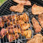 outdoor fleisch grillen