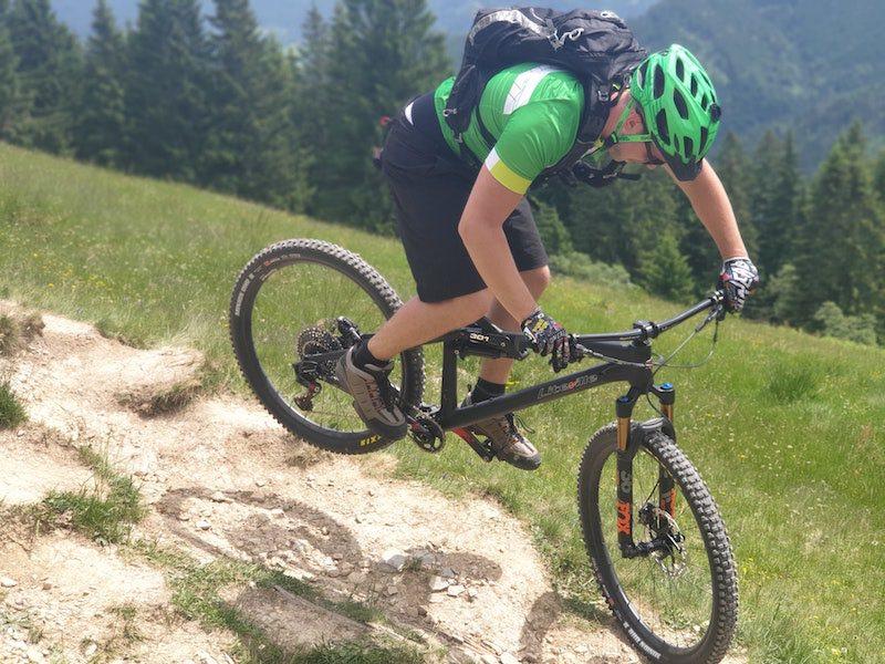 Mountainbike Fahrradtyp für das Gelände