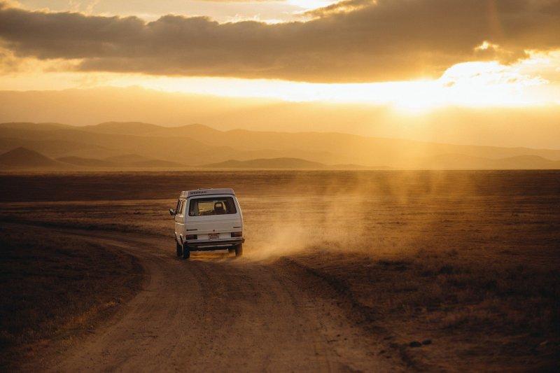 Eine Reise mit dem Van