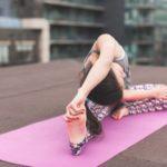 Yogamatte auswählen