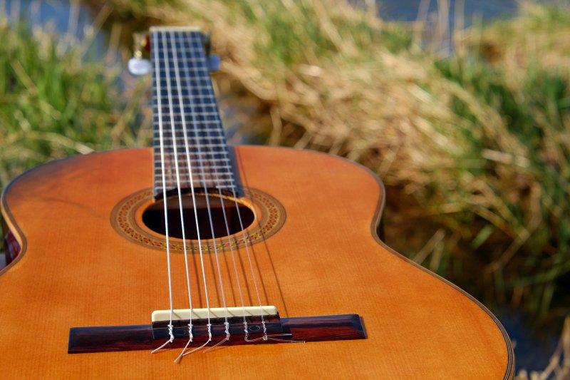 Der Aufbau einer Konzertgitarre