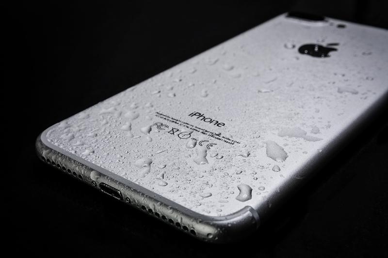 Nasses Handy iPhone
