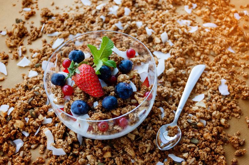 Protein-Müsli zum Frühstück