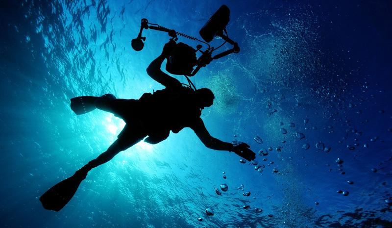 Tauchen mit Unterwasserkamera