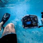 Unterwassergehäuse Kamera