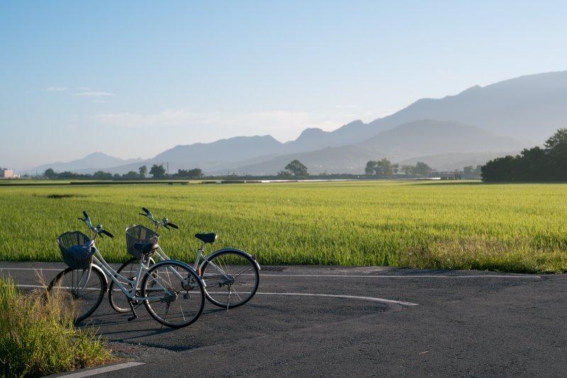 Fahrradtour Pause