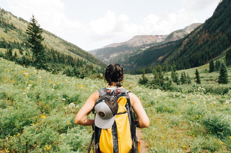 Wandern mit Wanderrucksack