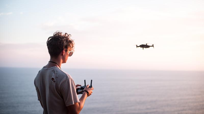 Drohnen Quadrocopter Test