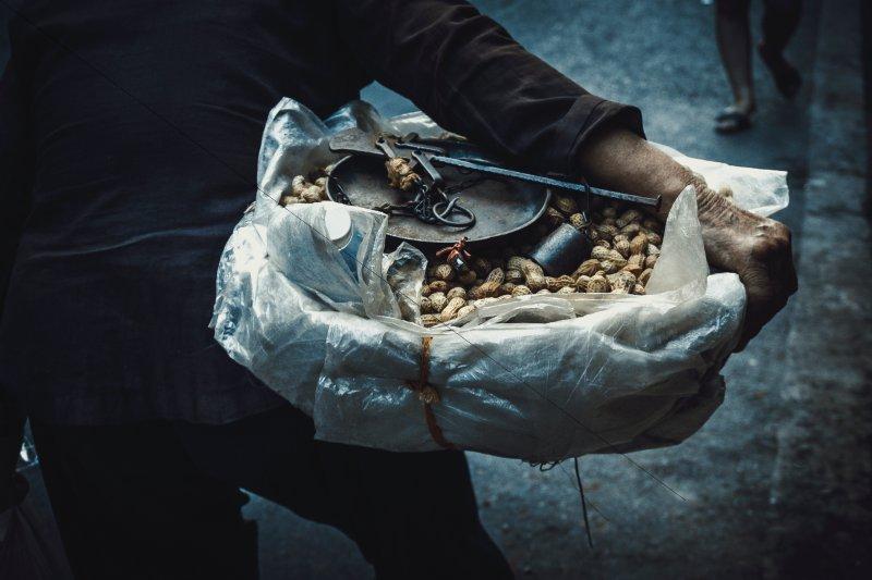 Erdnüsse sind eine gute Proteinquelle.