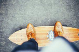 Longboard im Alltag