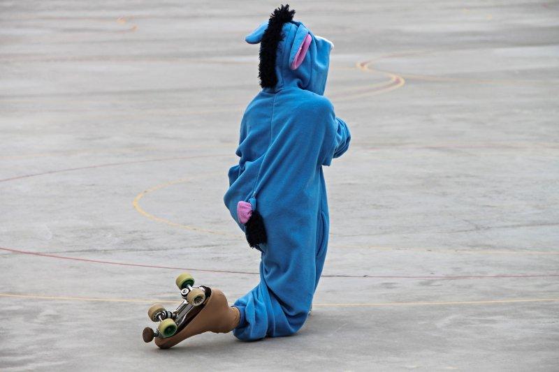 Skating, Rollkunstlauf in Rollkunstlauf-Rollschuhen