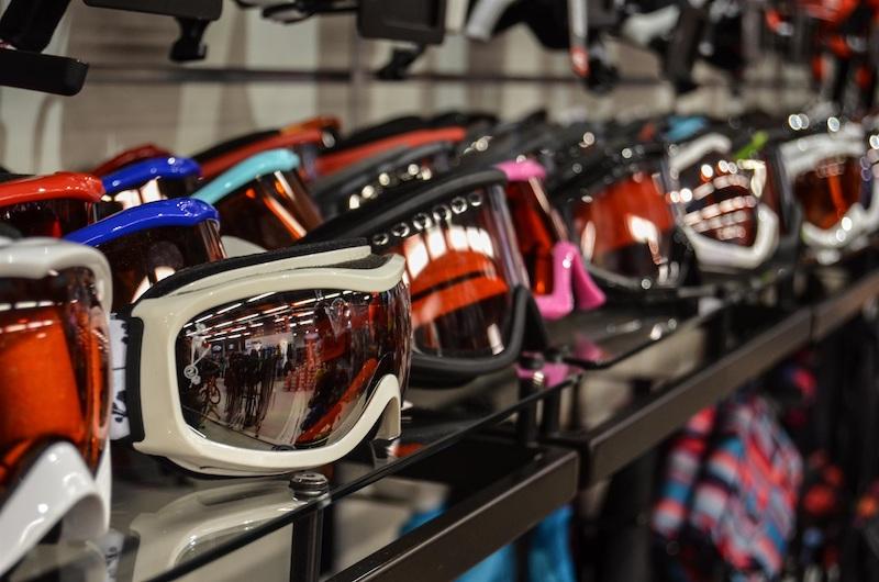 Skibrille kaufen im Sportgeschäft