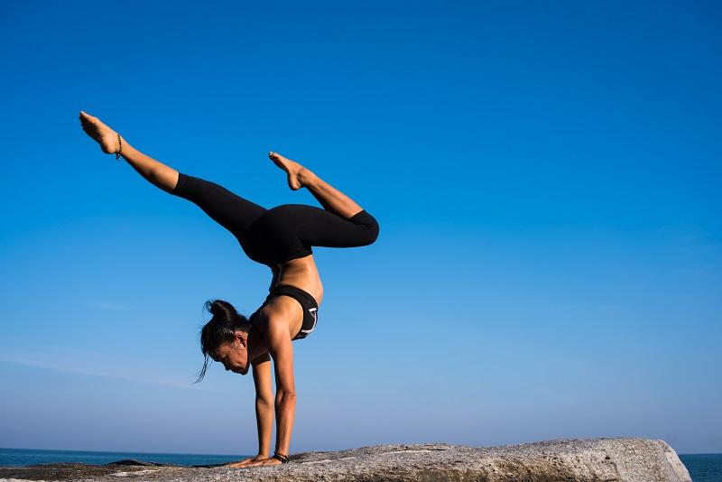 Gleichgewicht zeigen