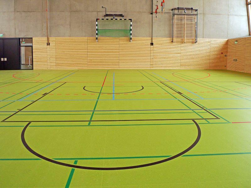 Sporthalle einer Schule