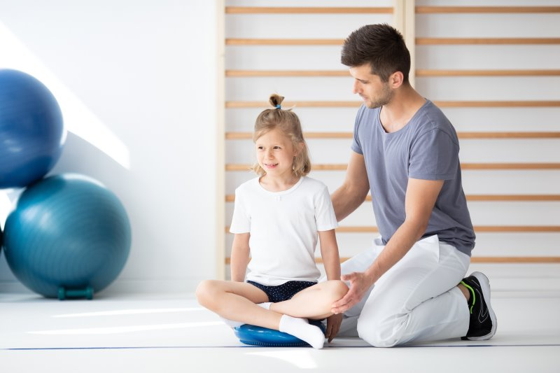 Balancekissen in der Physiotherapie