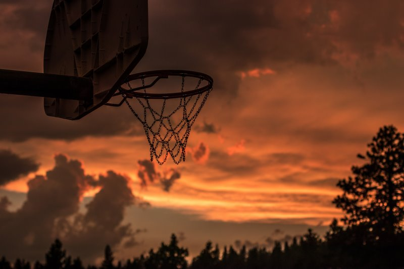 Basketballständer Outdoor