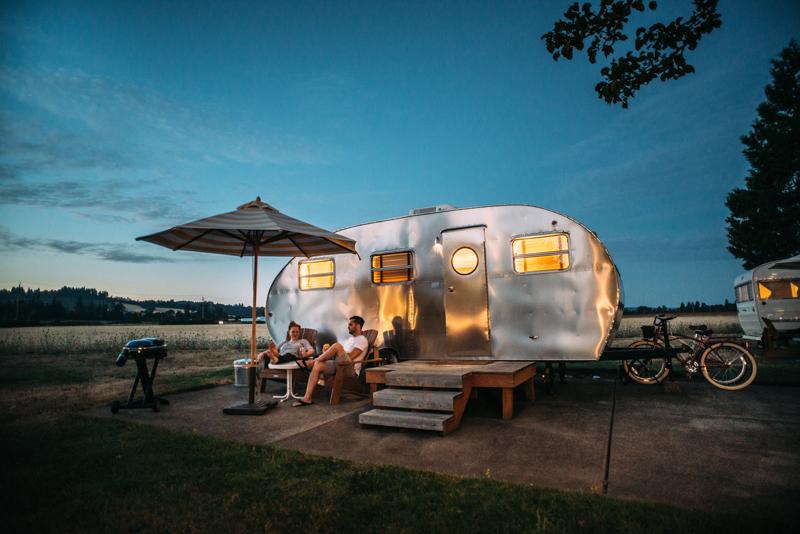 Camping mit Kühlbox