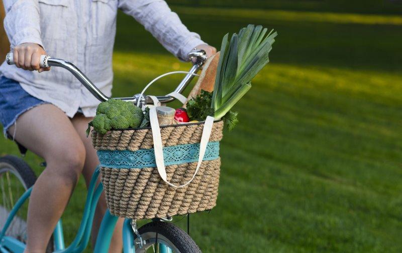 Mit dem E-Bike Citybike zum Einkaufen