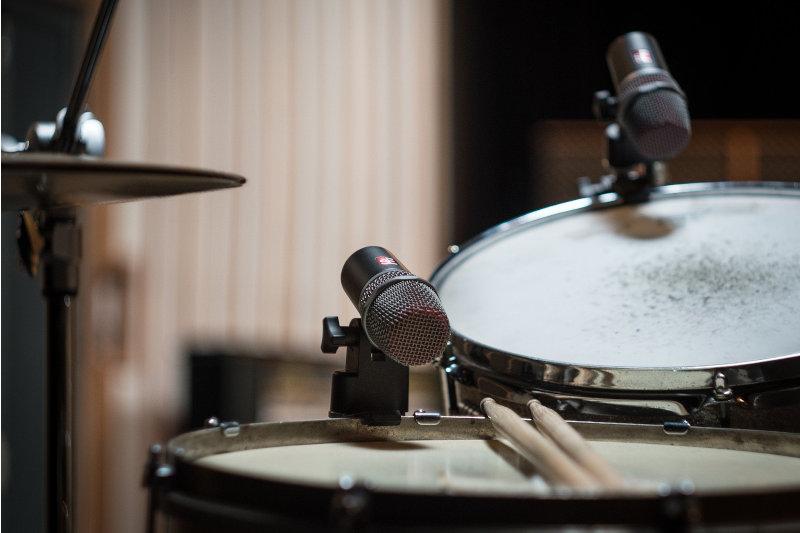 E-Drums im Test - E-Drums aufnehmen