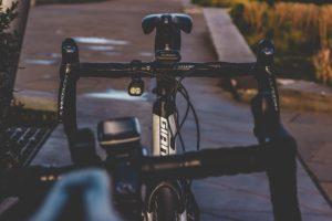 Fahrrad-Navi Befestigung am Lenker