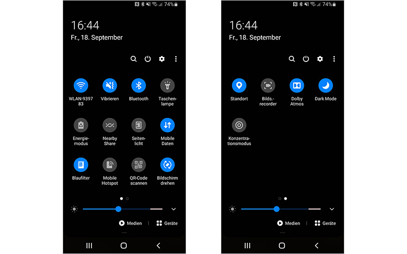Zusatzfunktionen Deines Handys benötigen viel Akku